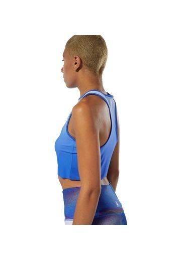 Reebok Yoga Ombre Kısa Atlet Mavi
